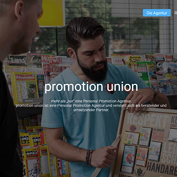 Webdesign Hamburg Website Promotion union